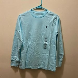 Boys size M(10-12) POLO long sleeve shirt